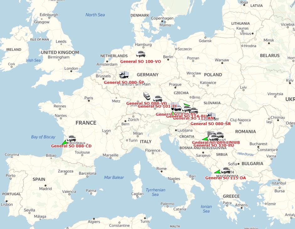 logistika medjunarodnog prevoza robe