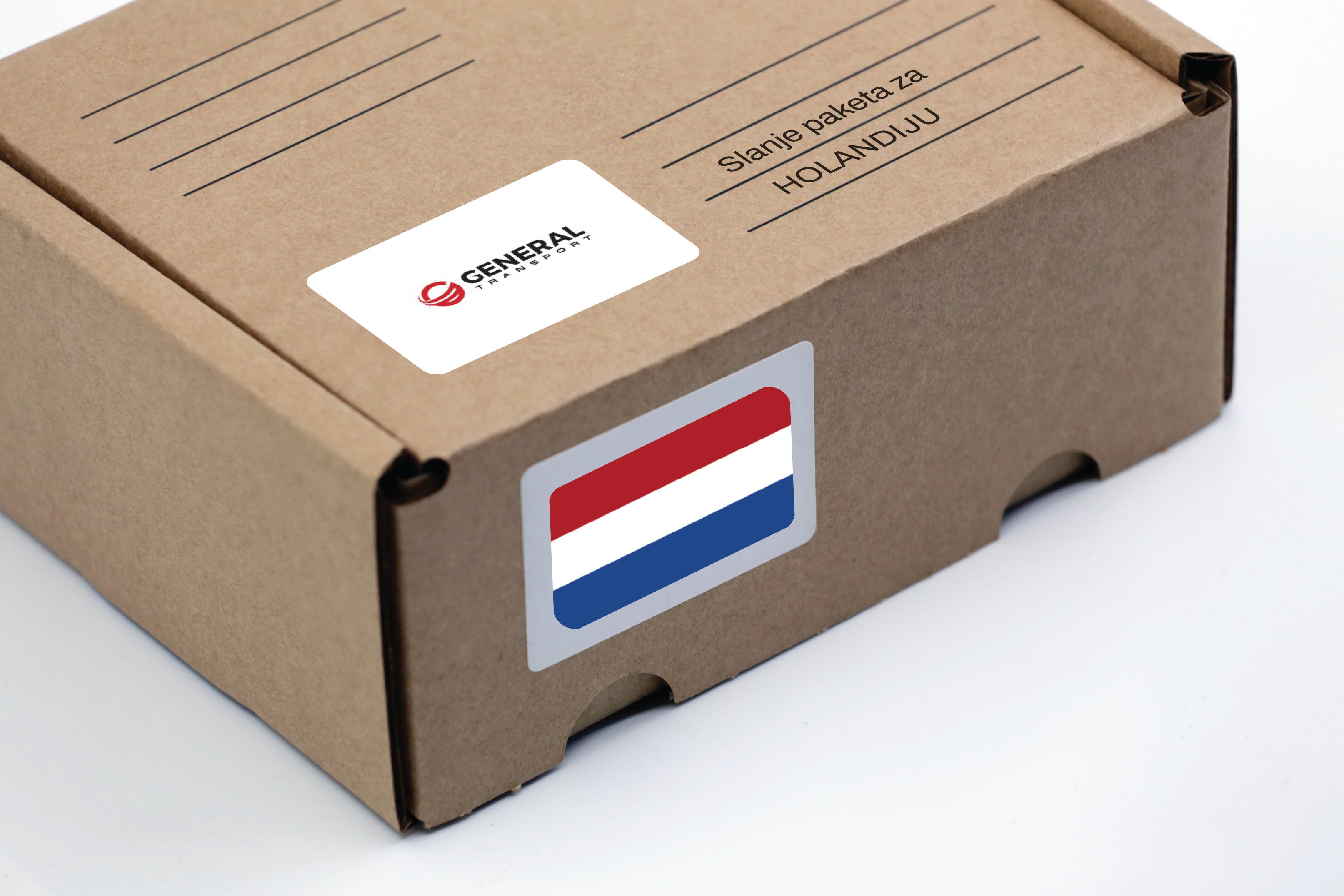 Slanje paketa za Holandiju