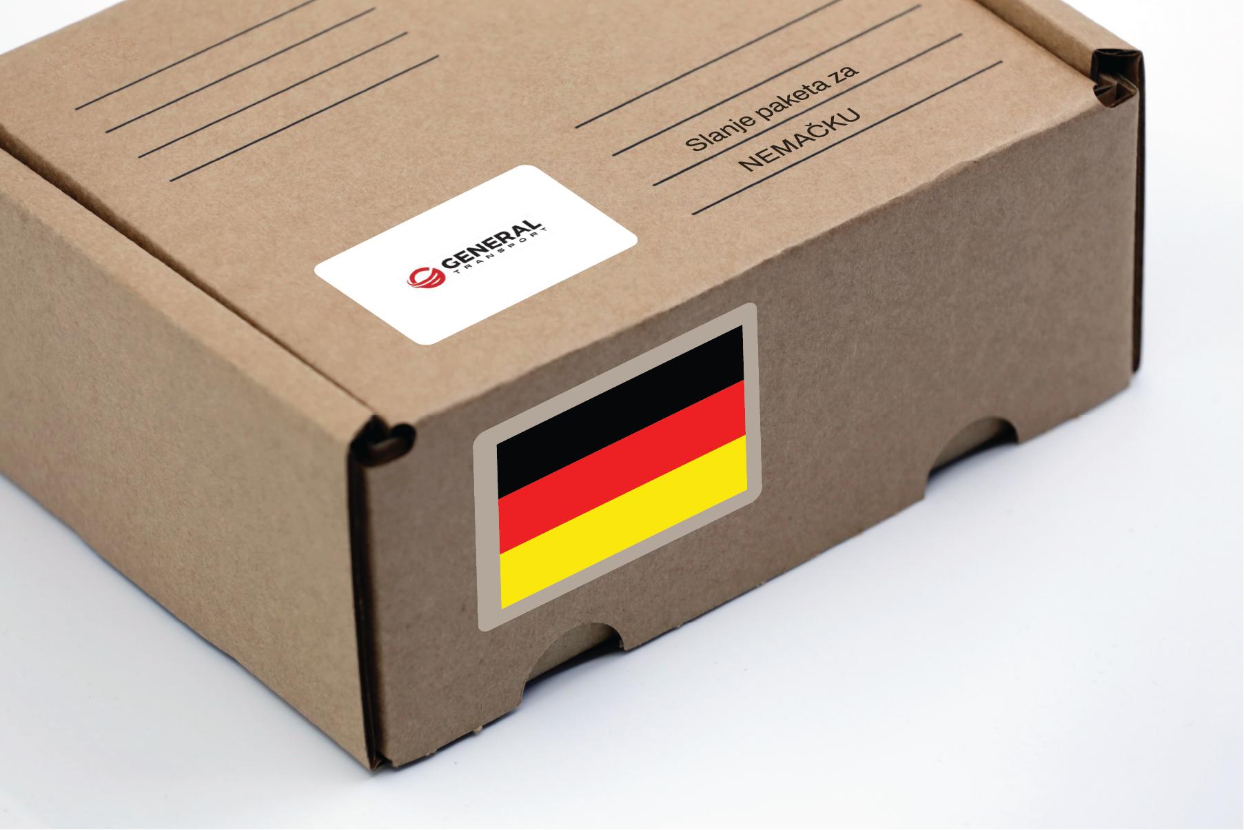 Slanje paketa za Nemačku